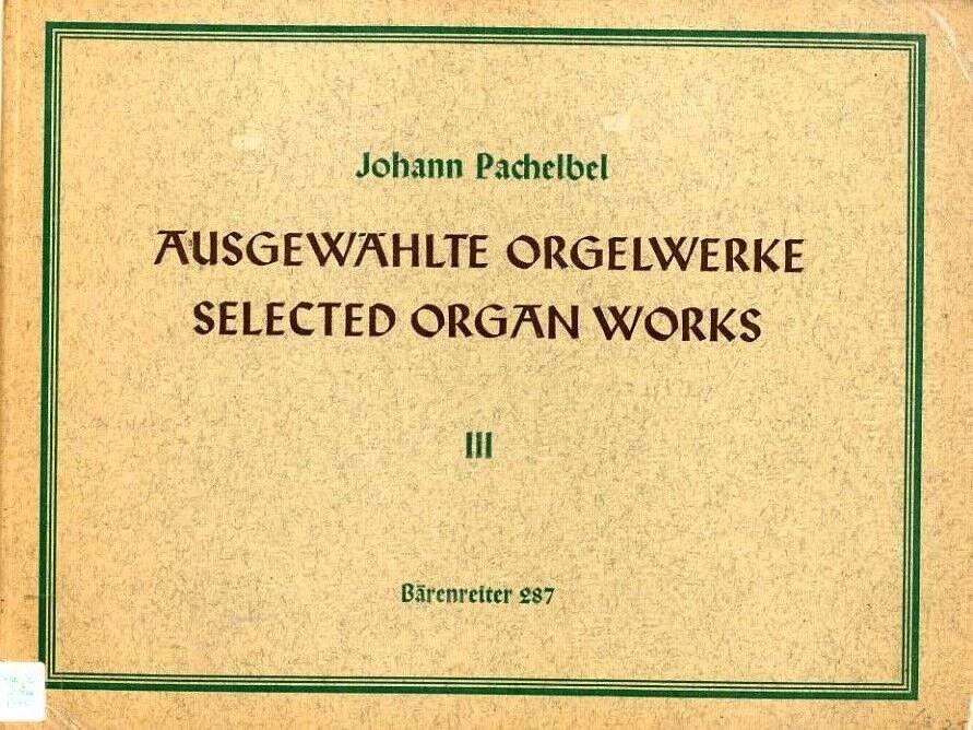 Chorale Preludes, Part II, In allgemeiner Landesnot, 18. Gott Vater, der du deine Sonn