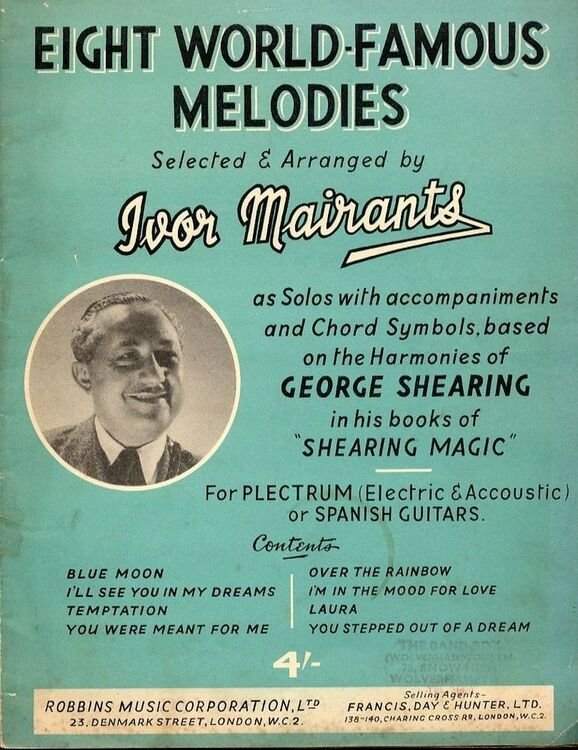 Eight World Famous Melodies As Solos With Accompaniments And Chord