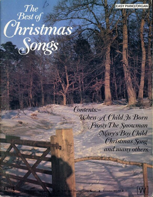 The Best of Christmas Songs - Easy Piano - Organ Album