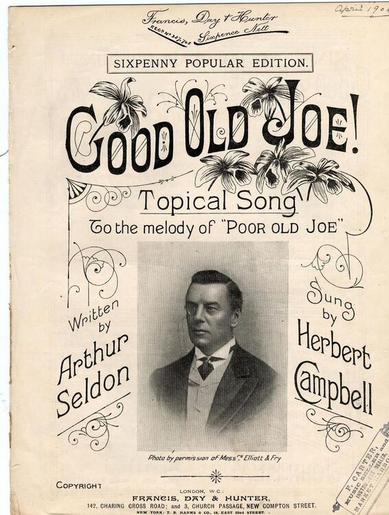 Good Old Joe! - Topical Song to the Melody of