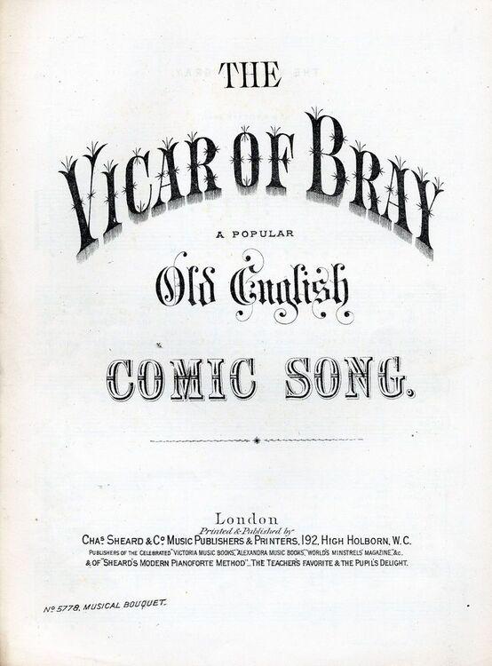vicar of bray