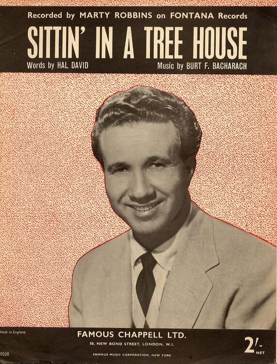 Sittin\' in a tree house - Recorded by Marty Robbins on Fontana ...