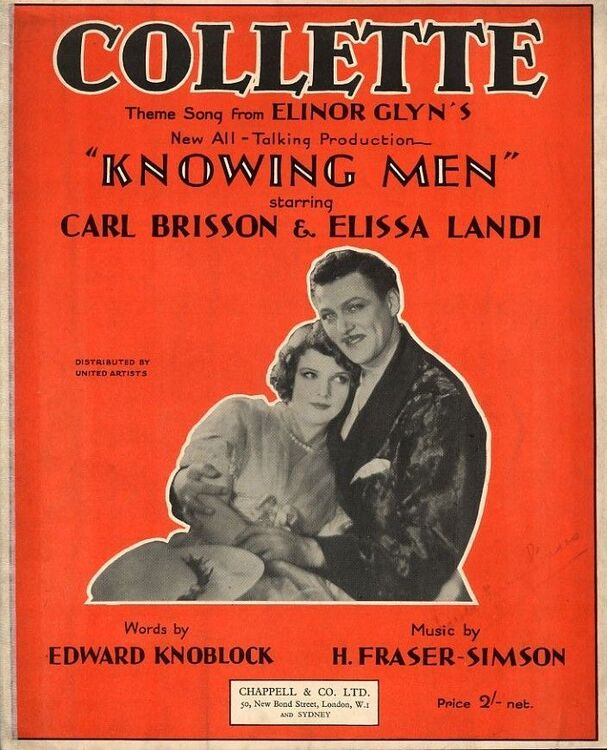 Collette - Theme song from Elinor Glyn's