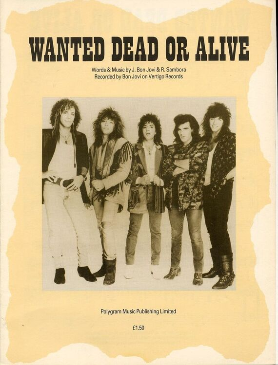 Wanted Dead or Alive - Recorded by Bon Jovi on Vertigo Records only ...