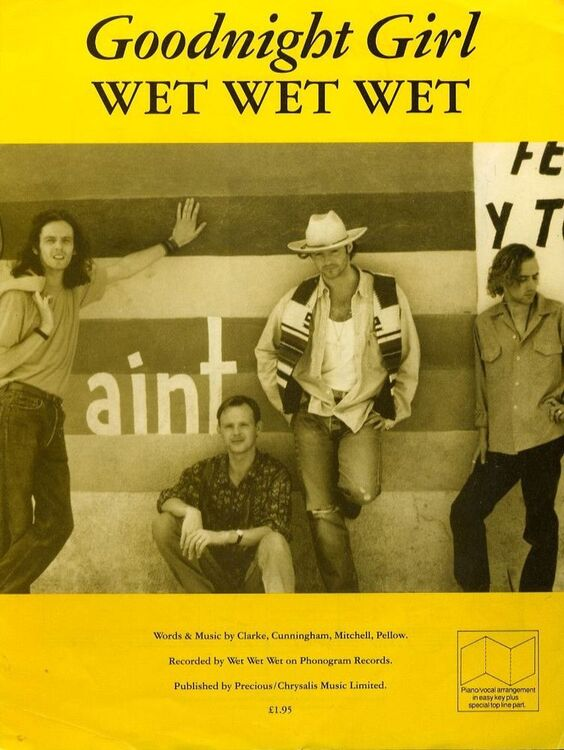 Goodnight Girl - Recorded by Wet Wet Wet on Phonogram Records - For ...