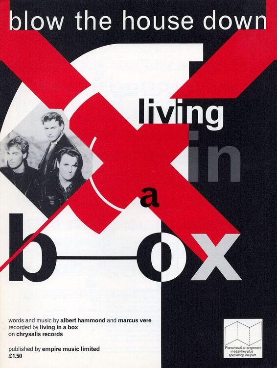 Blow The House Down Recorded By Living In A Box On Chrysalis