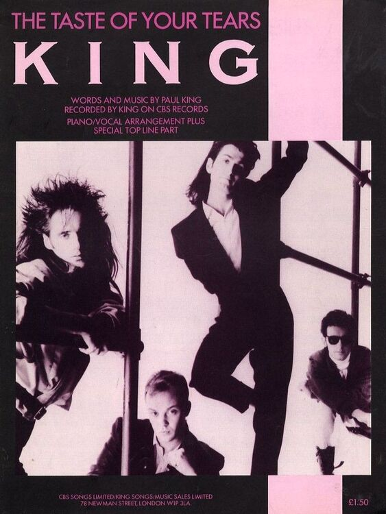The Taste Of Your Tears Recorded By King On Cbs Records For