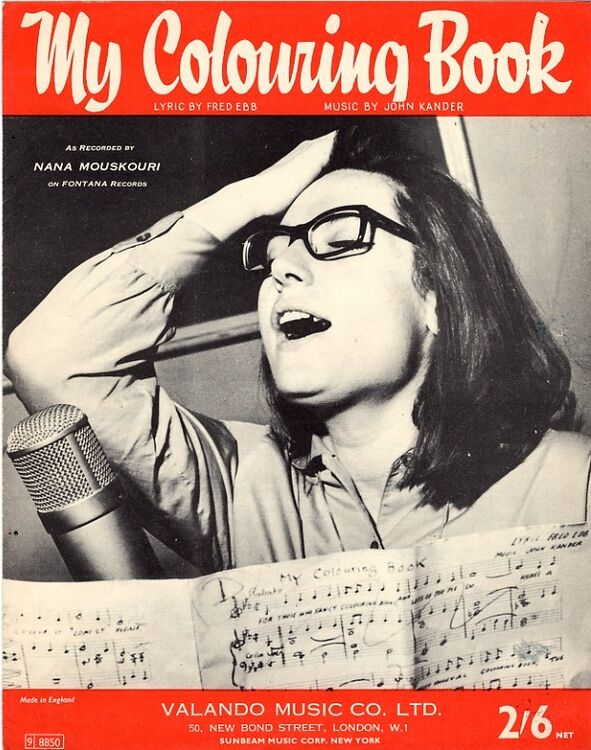 My Colouring Book Featuring Nana Mouskouri only £9.00