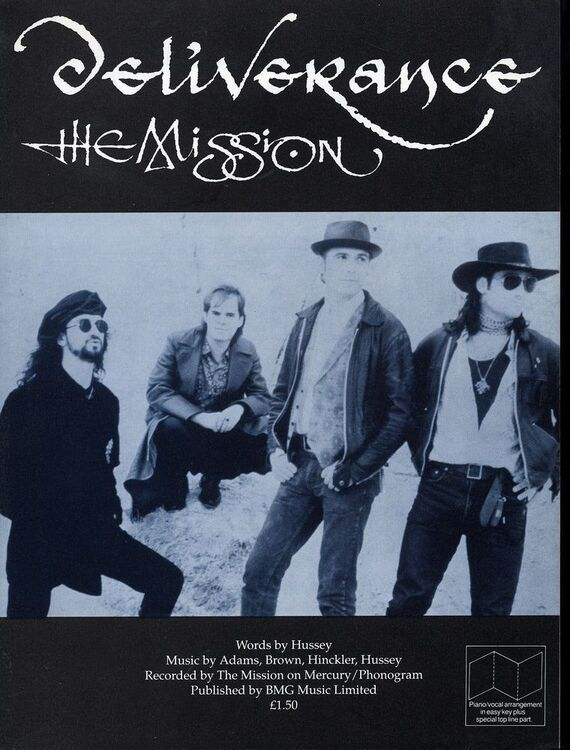 Deliverance Recorded By The Mission On Mercuryphonogram Records