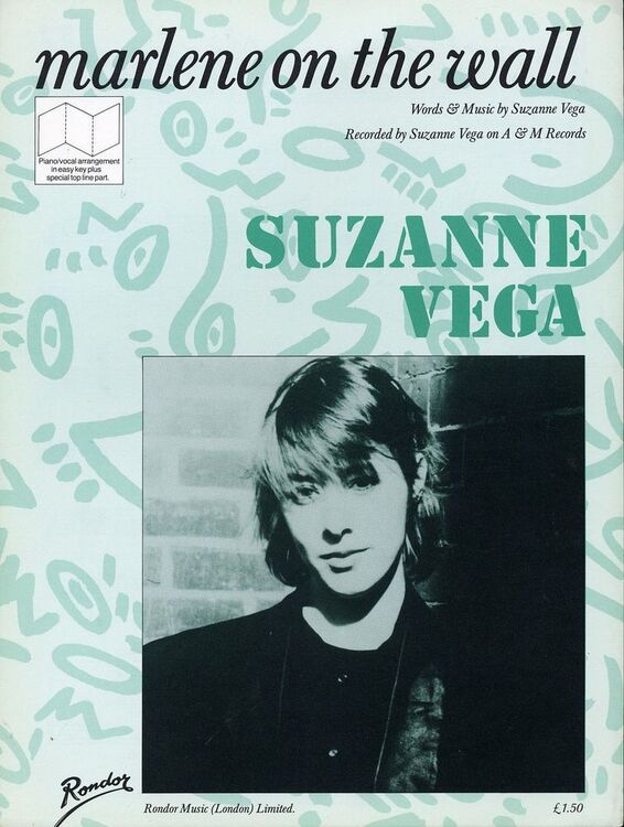 Marlene On The Wall Recorded By Suzanne Vega On A And M Records