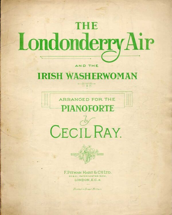 The Londonderry Air & The Irish Washerwoman - Song and Piano Solo