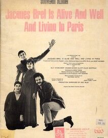Jacques Brel is Alive and Well and Living in Paris - Souvenir Album - Featuring Elly Stone, Mort Shuman, Shawn Elliot and Alice Whitfield