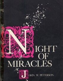 Night of Miracles - Vocal Score for SATB