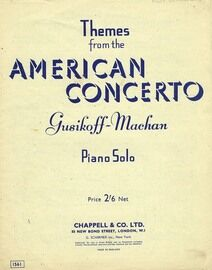 Themes from the American Concerto