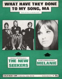 What Have They Done to My Song - As performed by The New Seekers and Melanie