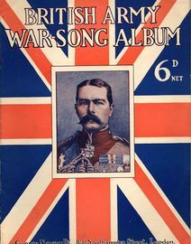 British Army War Song Album - For Voice and Piano