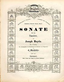 Sonate No. 7 in Es dur - Sonaten fur das Pianoforte von Joseph Haydn series No. 7