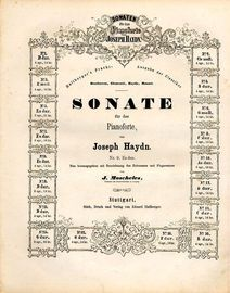 Sonate No. 9 in Es dur - Sonaten fur das Pianoforte von Joseph Haydn series No. 9