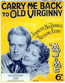 Carry me back to old Virginny - Song featuring Jeanette Mac Donald and Nelson Eddy in 'May Time'