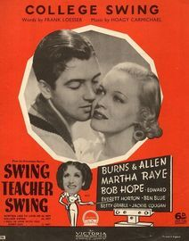 College Swing - From the Paramount Picture