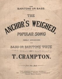 The Anchor\'s Weighed - Popular song