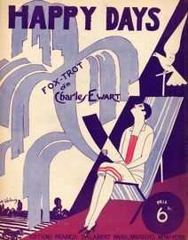 Happy Days - Fox-trot - For Piano Solo - French Edition