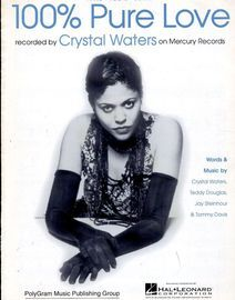 100% Pure Love - Featuring Crystal Waters - Piano - Vocal - Guitar