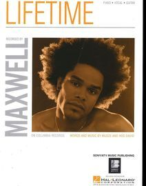 Lifetime - Featuring Maxwell - Piano - Vocal - Guitar
