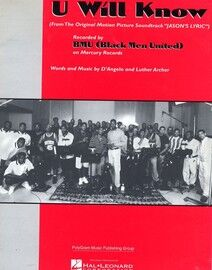U will Know (From the motion picture \