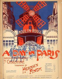 A Day in Paris - Fantasia on Melodies by Christine - French Edition