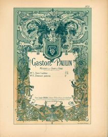 Chanson Paienne - Op. 75 - For Piano and Voice - Melodies pour Chant et Piano Series No. 2 - French Edition
