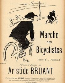 Marche des Bicyclistes - Dedicated to Henri Rudeaux - French Edition