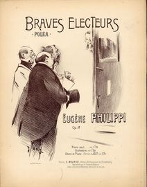 Braves Electeurs - Polka - Op. 18 - For Piano Solo - French Edition