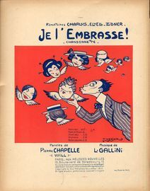 Je L\'Embrasse! Impressions Cosmopolites - For Piano and Voice - French Edition