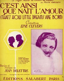C' Est Ainsi Que Nait L' Amour (That's how little dreams are born) - Featuring Lyne Clevers - French Edition