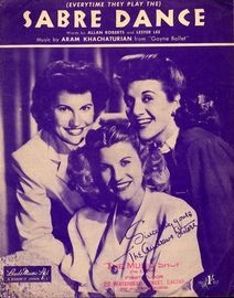 (Everytime They Play The) Sabre Dance - Featuring The Andrews Sisters - Theme song from