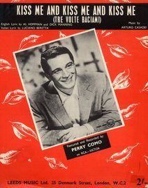 Kiss me and Kiss me and Kiss me (Tre Volte Baciam) - Featuring Perry Como