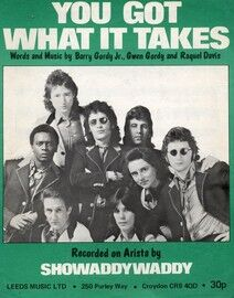 You Got What It Takes - Featuring Showaddywaddy
