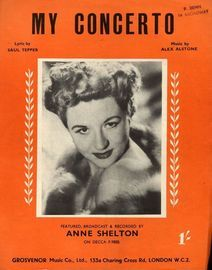 My Concerto - Song - Featuring  Anne Shelton