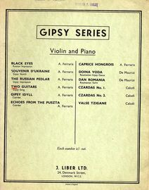 Two Guitars - Gipsy Song - For Violin and Piano from Gipsy Series