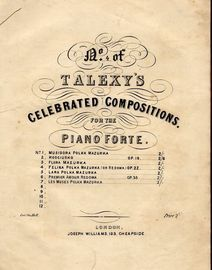 Felina Polka Mazurka (Or Redowa) - Op. 22 - No. 4 of Talexy's Celebrated Compositions for the Pianoforte series