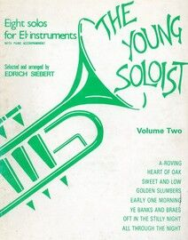The Young Soloist - Volume Two - Eight Solos for E flat Instruments with Piano Accompaniment