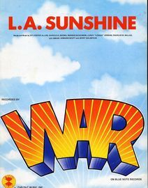 L. A. Sunshine - Recorded by WAR - For Piano and Voice with Guitar chord symbols