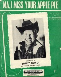 Ma I Miss Your Apple Pie - Featuring Jimmy Boyd