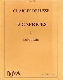 12 Caprices for Solo Flute