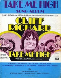 'Take Me High' Song Album - Cliff Richard - Including The Story and Pictures From The Film