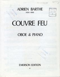 Couvre Feu for Oboe and Piano - With Seperate Oboe Part