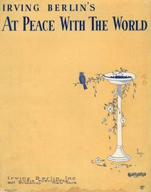 Irving Berlin's At Peace with the World