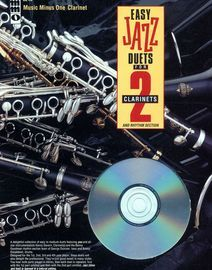 Easy Jazz Duets for Two Clarinets - Including Rhythm Section and CD