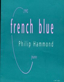 1990 French Blue Philip Hammond Piano piece for Alan Angus CMC1003